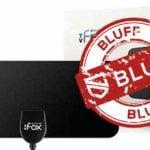 TV Fox-antennen med bluffstämpel