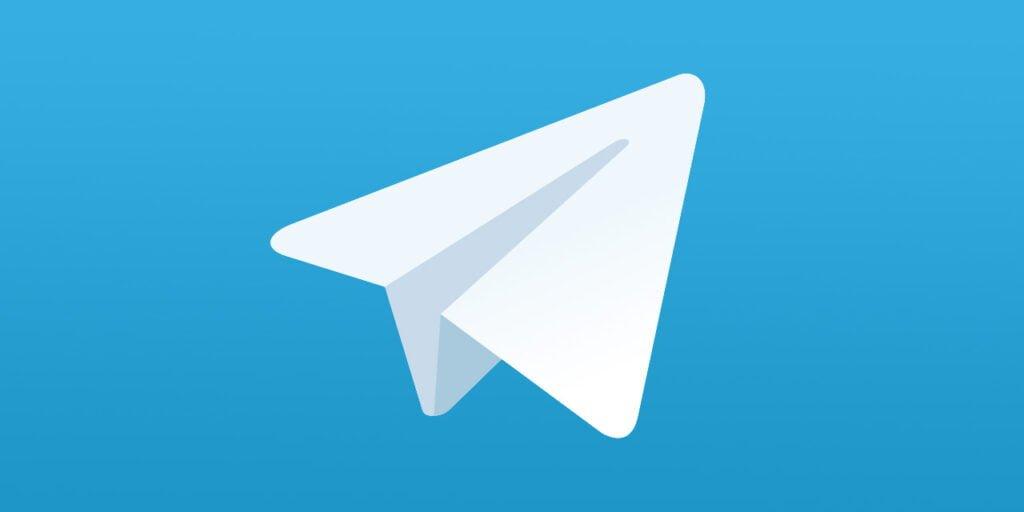 Telegram-logotypen