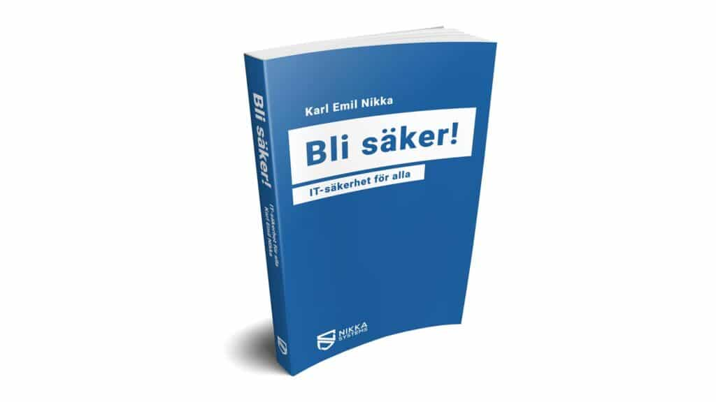 Konceptbild på Bli säker-boken