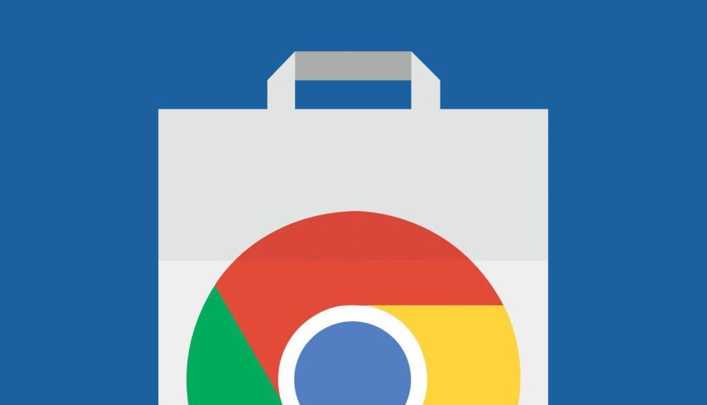 Logotypen för Chromes tilläggsbutik