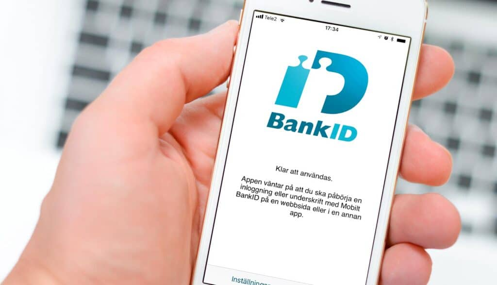 Bank-ID på Iphone 5s