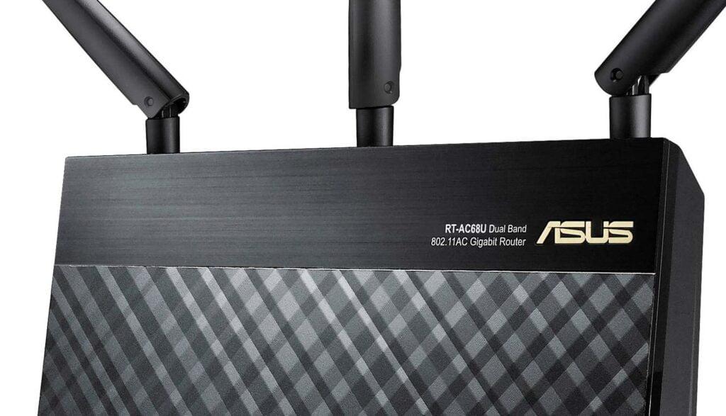 Asus-router med inbyggd VPN-klient