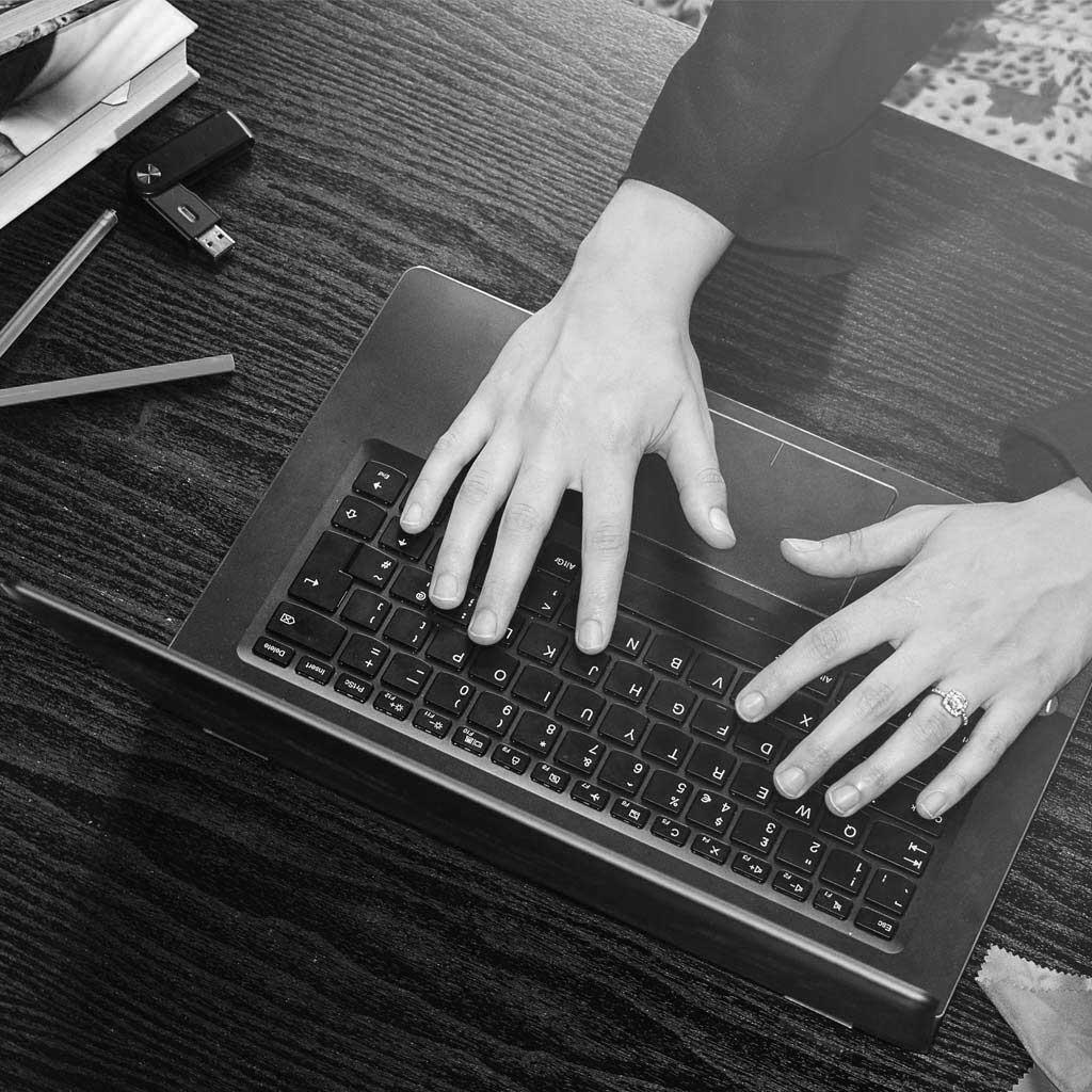 Inloggning på dator
