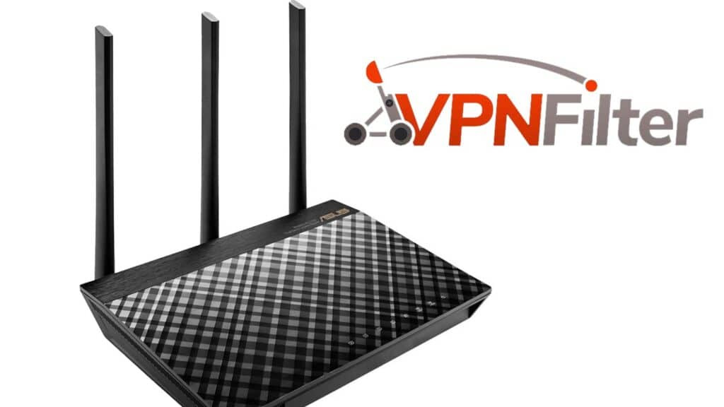 VPNFilter-drabbade routern Asus RT-AC66U