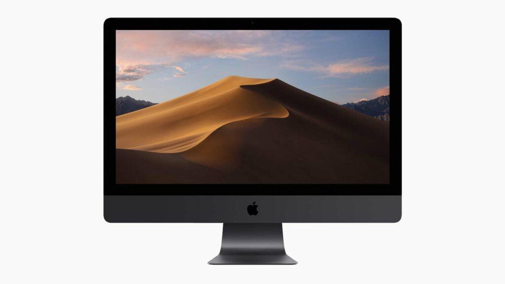 Mac OS 10.14 (Mojave) på Imac
