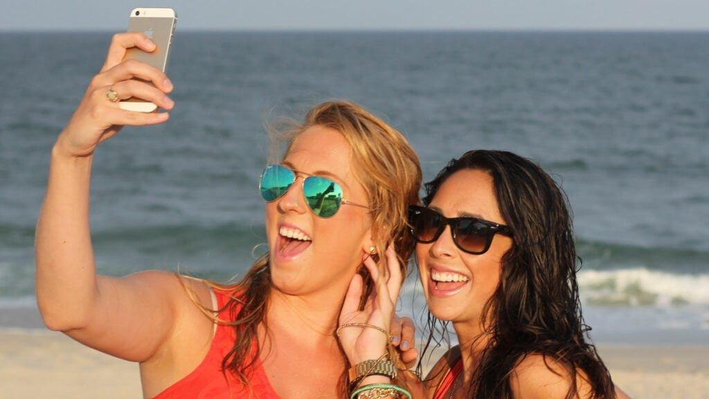 Selfie på semestern