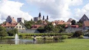 Almedalen i Visby