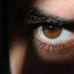 Öga som spionerar