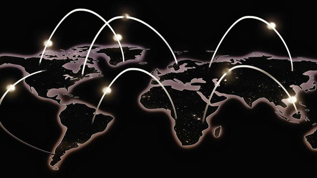 Anslutningar över världen
