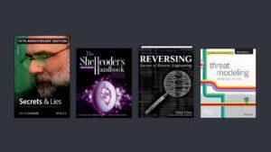 Fyra av böckerna i Humble Bundle