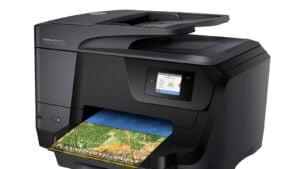 HP Officejet 8710 (en av de drabbade skrivarna)