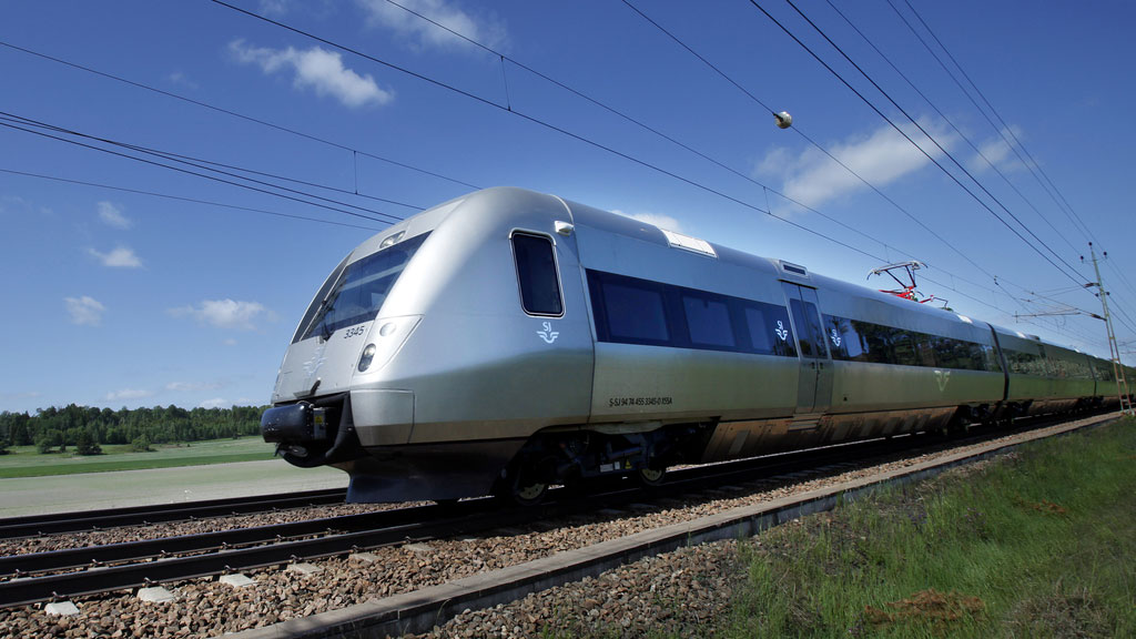 SJ:s tåg SJ 3000