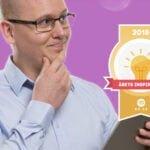 Karl Emil Nikka är Årets teknikinspiratör 2018.