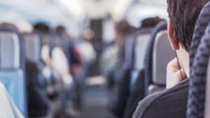 Kabinen i ett flygplan