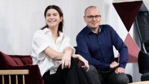 Tess Hamark och Karl Emil Nikka