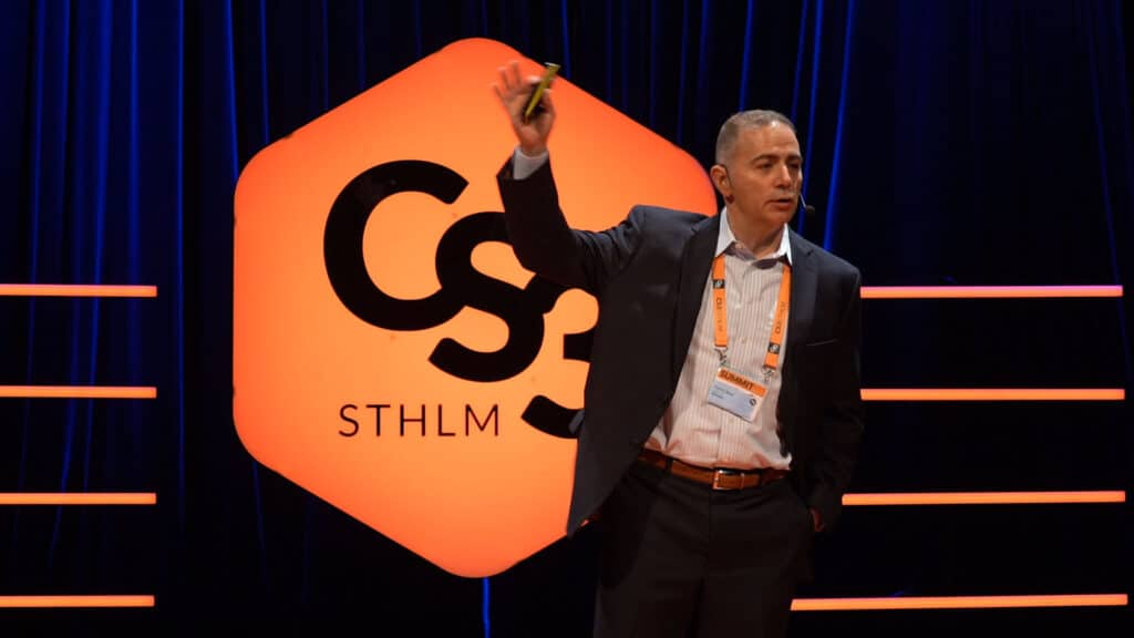 Patrick Miller på CS3 STHLM 2018