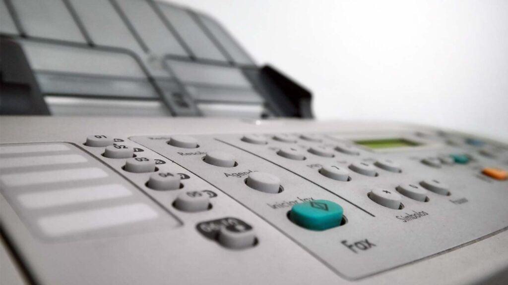 Fax-maskin
