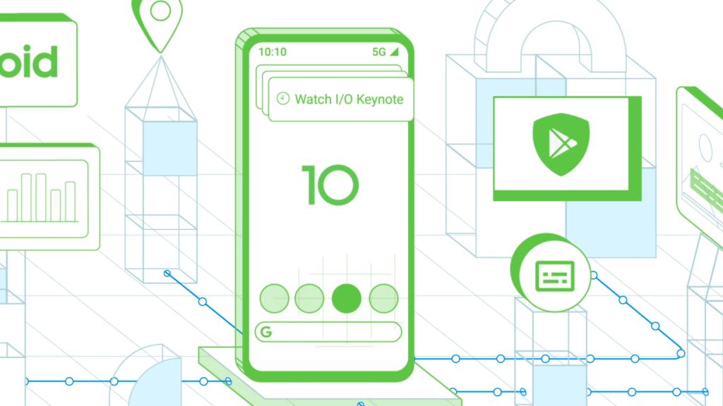 Android Q-illustration