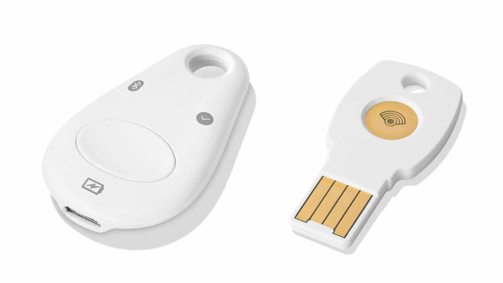 Googles Titan Security keys