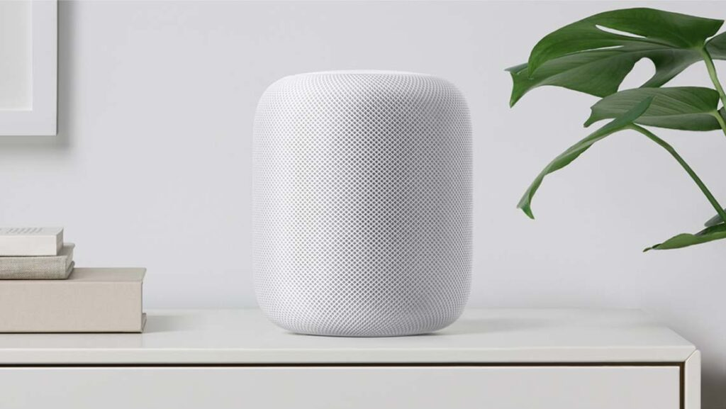Apple Homepod på hylla
