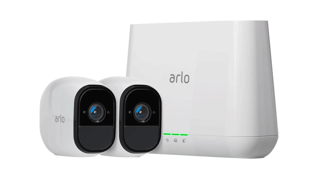 Arlo-övervakningskameror och -basstation
