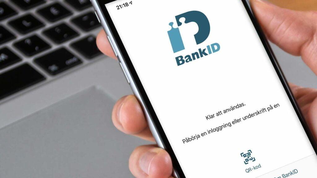Mobilt Bank-ID på Iphone