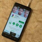 Faceapp på Android-mobil