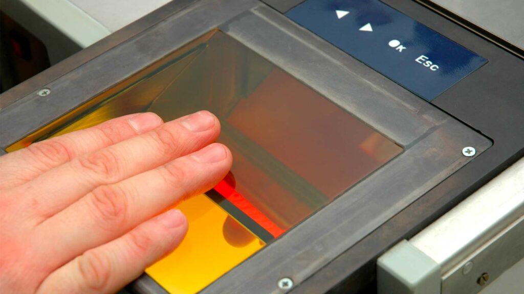 Enterprise-fingeravtrycksskanner