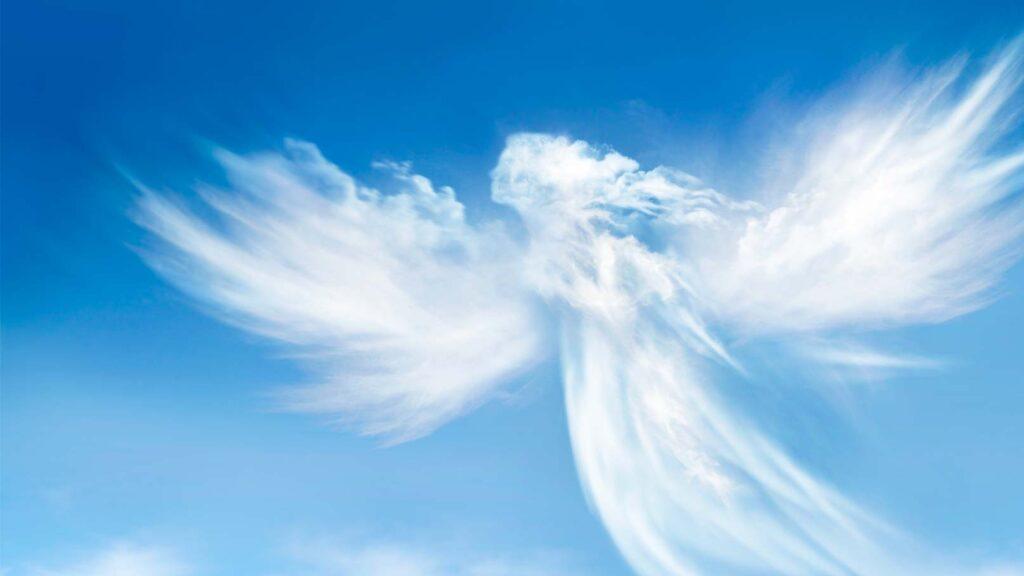 Ängel i moln