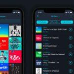 Pocket casts på Iphone