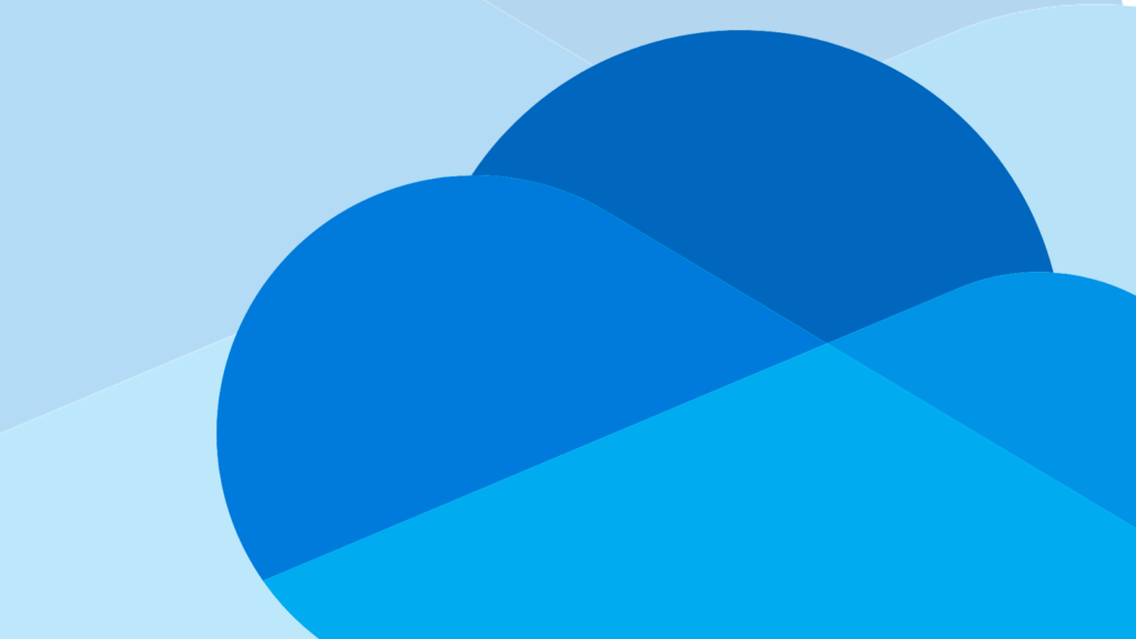 Logotypen för Microsoft Onedrive