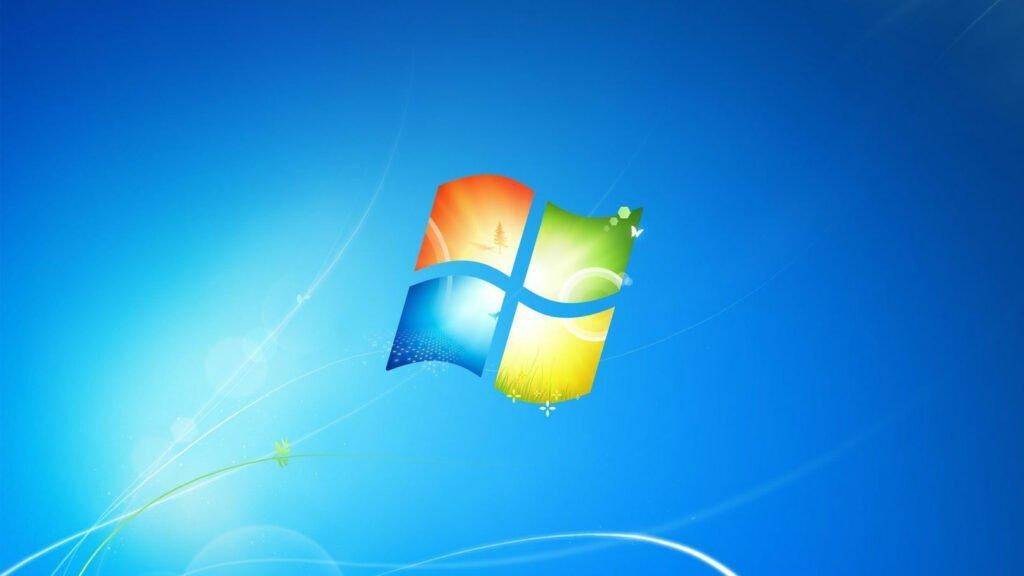 Bakgrundsbilden för Windows 7