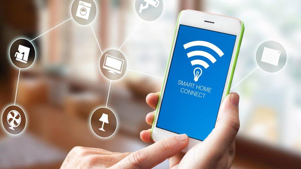 Iphone styr smart hem