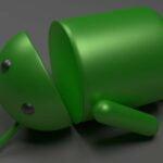 Död Android-maskot