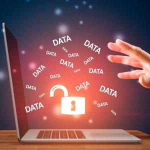Oskyddad data flyger ut ur laptop