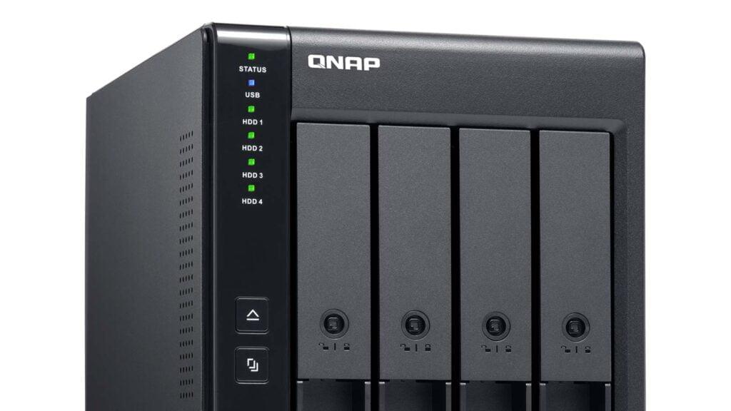Qnaps Nas-modell TR-004