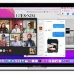 Mac OS Monterey körs på Macbook Pro.