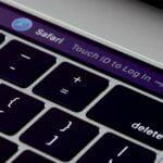 Touch-ID-sensor på Macbook Pro