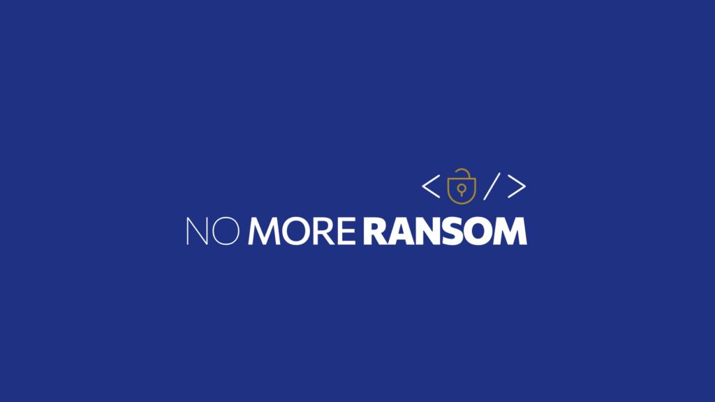 No more ransoms nya logotyp