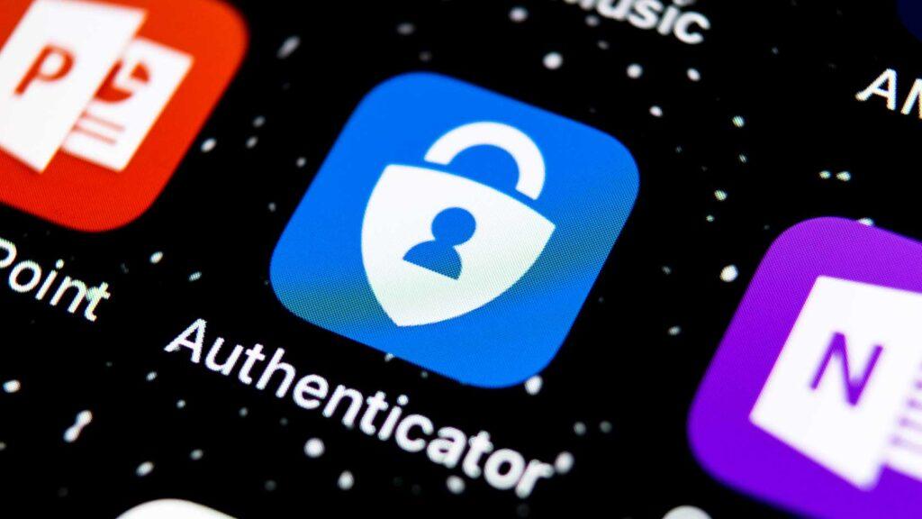 Microsoft Authenticator-appen på Iphone